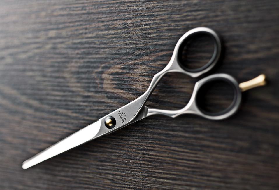 Produktfotografie Friseurschere
